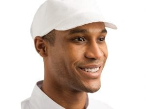 Bakers Cap White - One Size-0