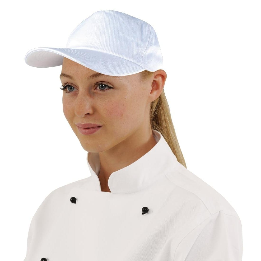 Baseball Cap Cotton White-0