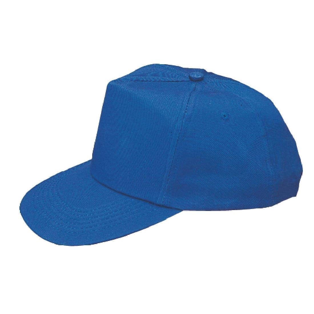 Baseball Cap Cotton Blue-0