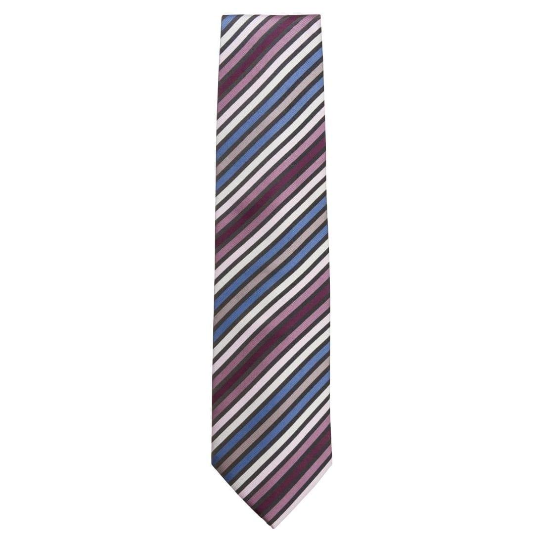 Uniform Works Multi-Striped Tie (TPMSBPU) (B2B)-0
