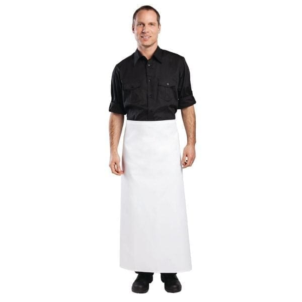 "Bistro Apron White - 1000x1000mm 39.4x39.4""-0"