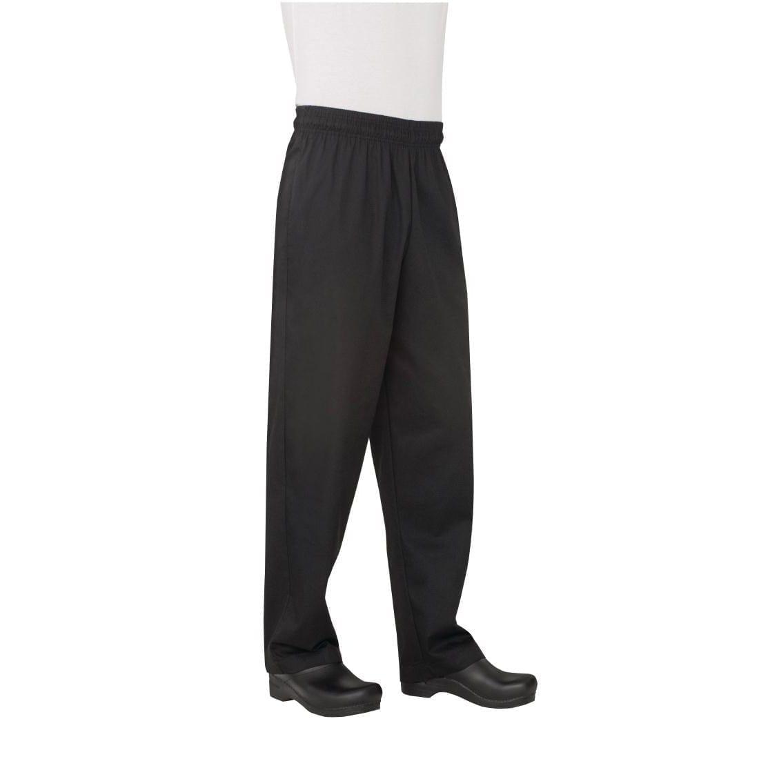 Chef Works Basic Baggy Black (NBBP) - Size XL (B2B)-0