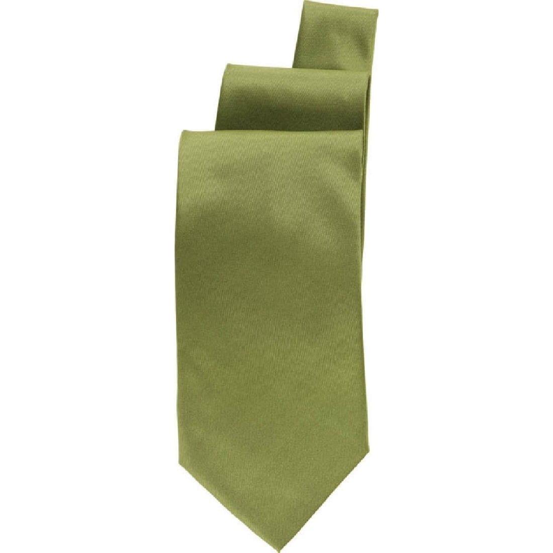 Uniform Works Lime Satin Finish Tie (TSPNLIM) (B2B)-0
