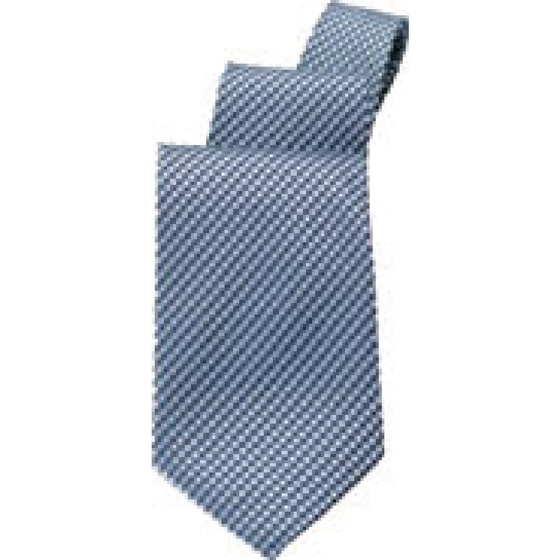 Uniform Works Blue Check Tie (T0000BCK) (B2B)-0