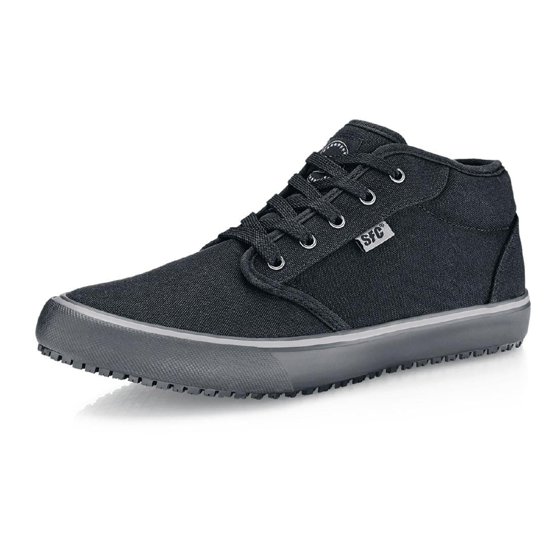 Shoes For Crews Coated Canvas Lace up Boot - Size 37-0