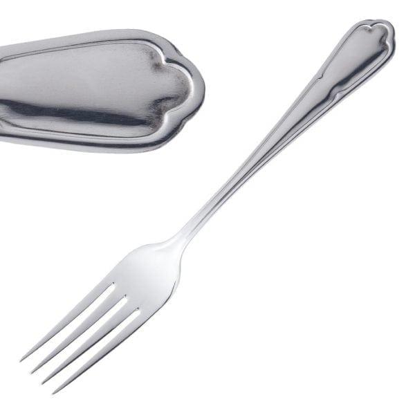 Olympia Dubarry Table Fork St/St (Box 12)-0
