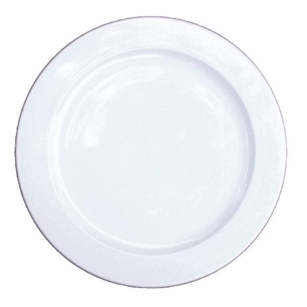"Alchemy White Service Plate - 13"" (Box 6) (Direct)-0"