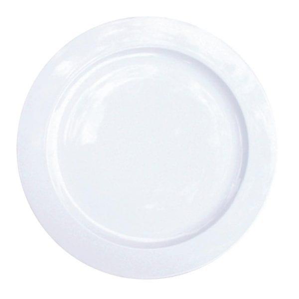 """Alchemy White Plate - 13"""" (Box 6)-0"""