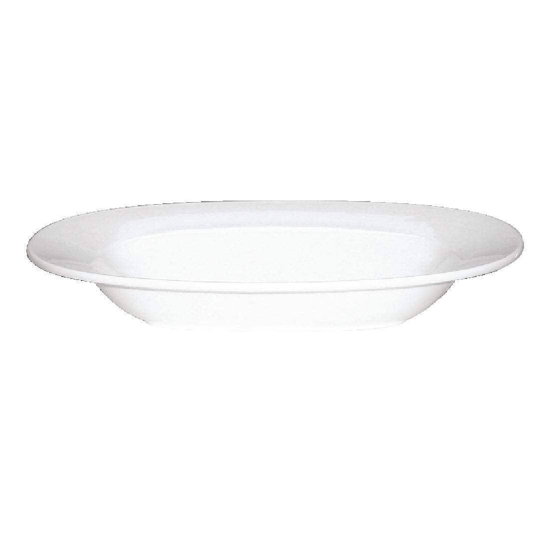 "Alchemy White Oval Pasta Bowl 13"" (Box 6) (Direct)-0"
