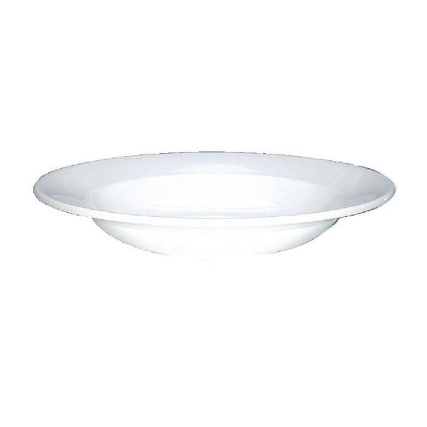 "Alchemy White Round Pasta Bowl - 11 3/4"" (Box 12) (Direct)-0"
