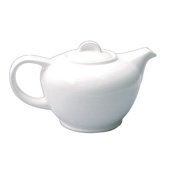 Alchemy White Teapot - 25oz (Box 6) (Direct)-0