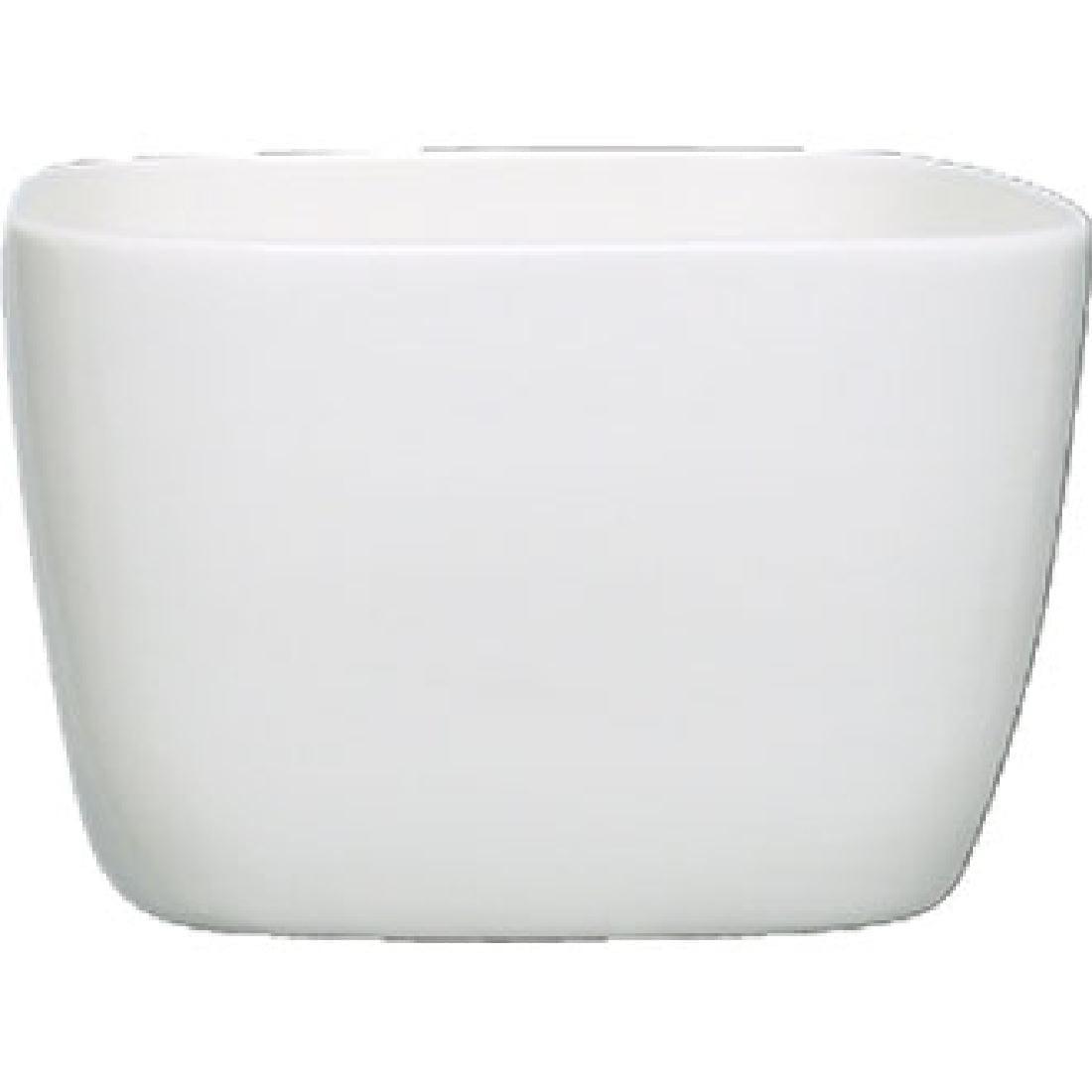 Alchemy White Square Bowl Open (Box 6) (Direct)-0