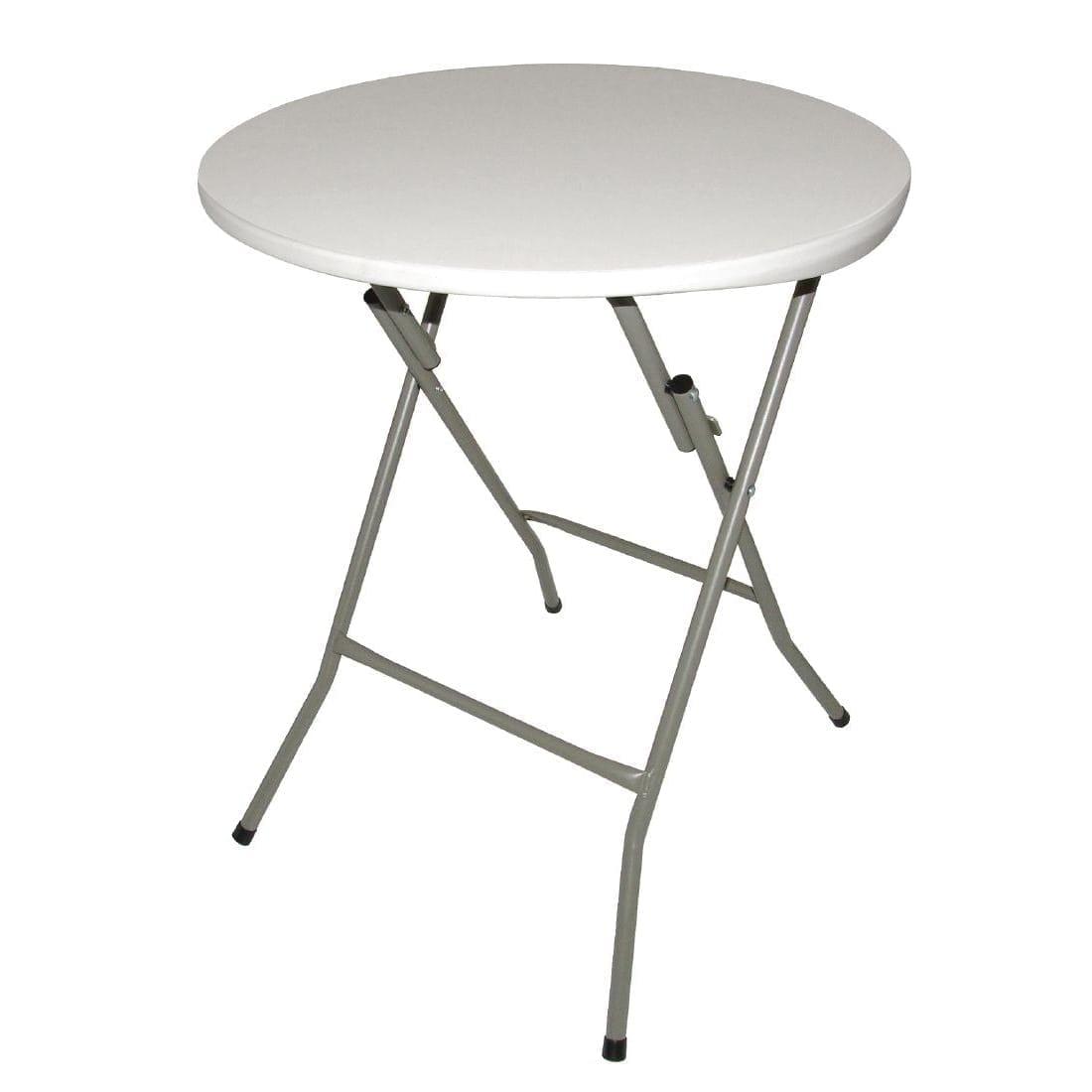 Bolero Foldaway Round Table - 600mm diameter-0
