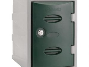 Extreme Modular Plastic Locker - 450mm high Green Camlock (Direct)-0