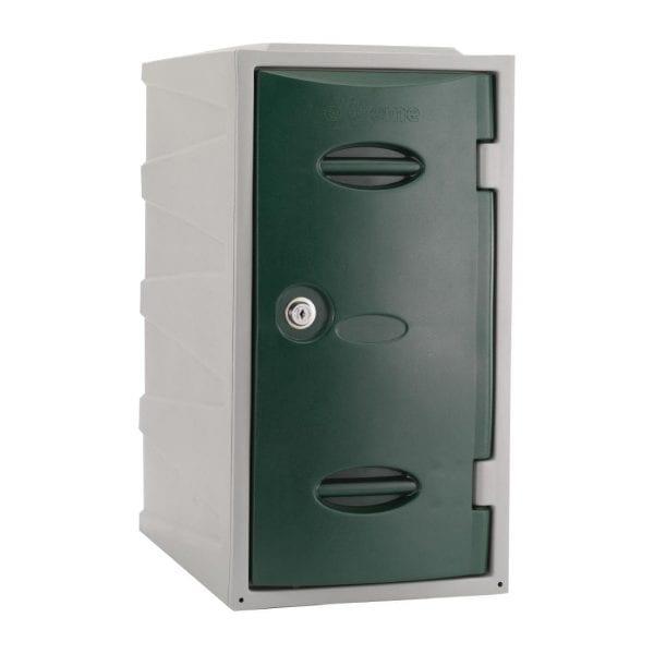 Extreme Modular Plastic Locker - 600mm high Green Camlock (Direct)-0