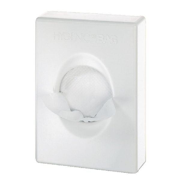 White Hygiene Bag Dispenser