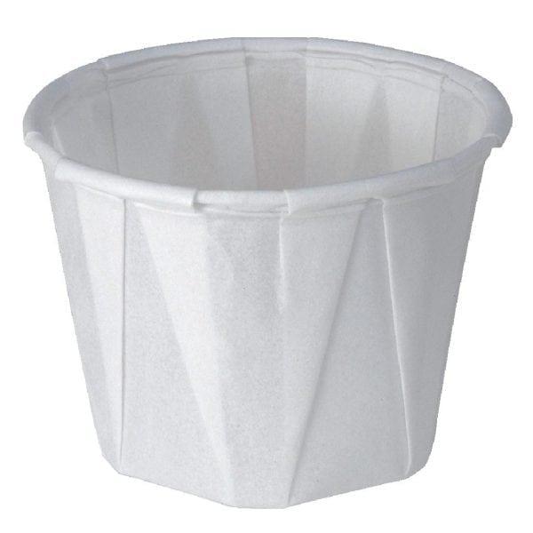Sauce/Souffle Dish Wax Paper - 28ml 1oz (Sleeve 250)