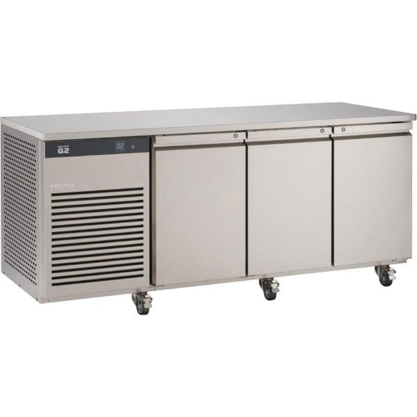Foster EcoPro G2 3 Door Counter Freezer R404a (StSt Ext Alu Int) (Direct)-0