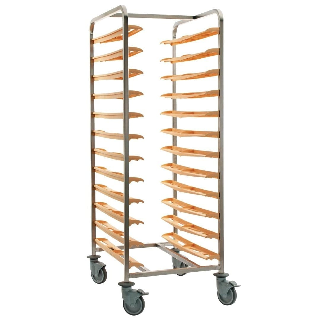 Bourgeat Cafeteria self clearing Trolley (back to back for 24 trays (Direct)-0