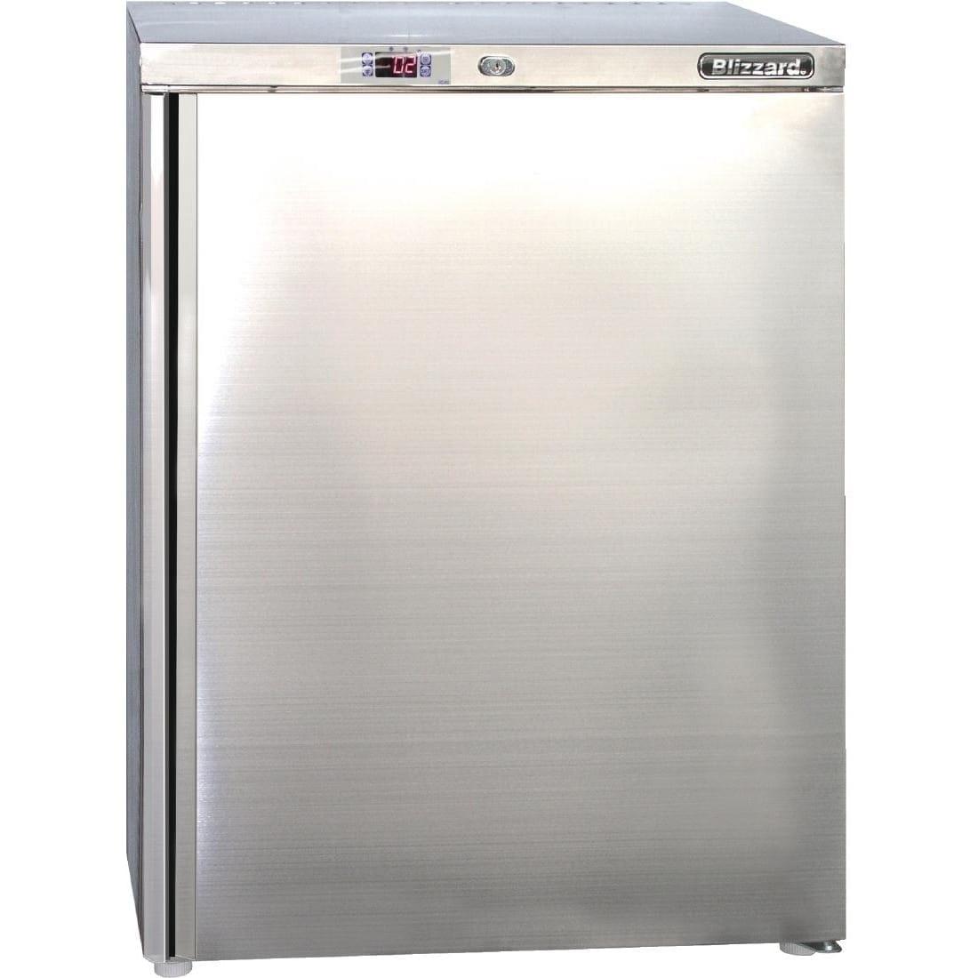 Blizzard Undercounter Refrigerator St/St - 140Ltr (Direct)-0