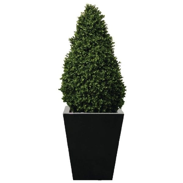 Artificial Topiary Buxus Pyramid - 4ft (Direct)-0