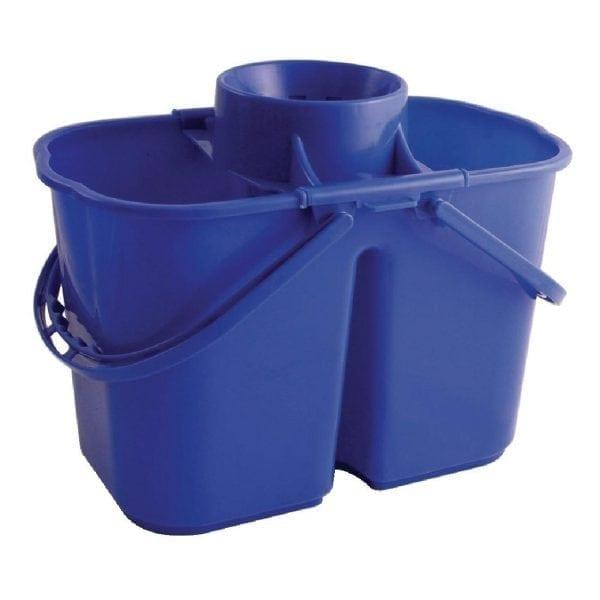 Double Mop Bucket & Wringer Blue