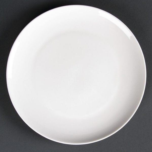 Lumina Fine China Coupe Plate Round - 205mm 8'' (Box 6)-0