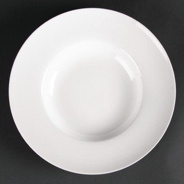 Lumina Fine China Pasta/Soup Bowl Small - 205mm 8'' (Box 6)-0