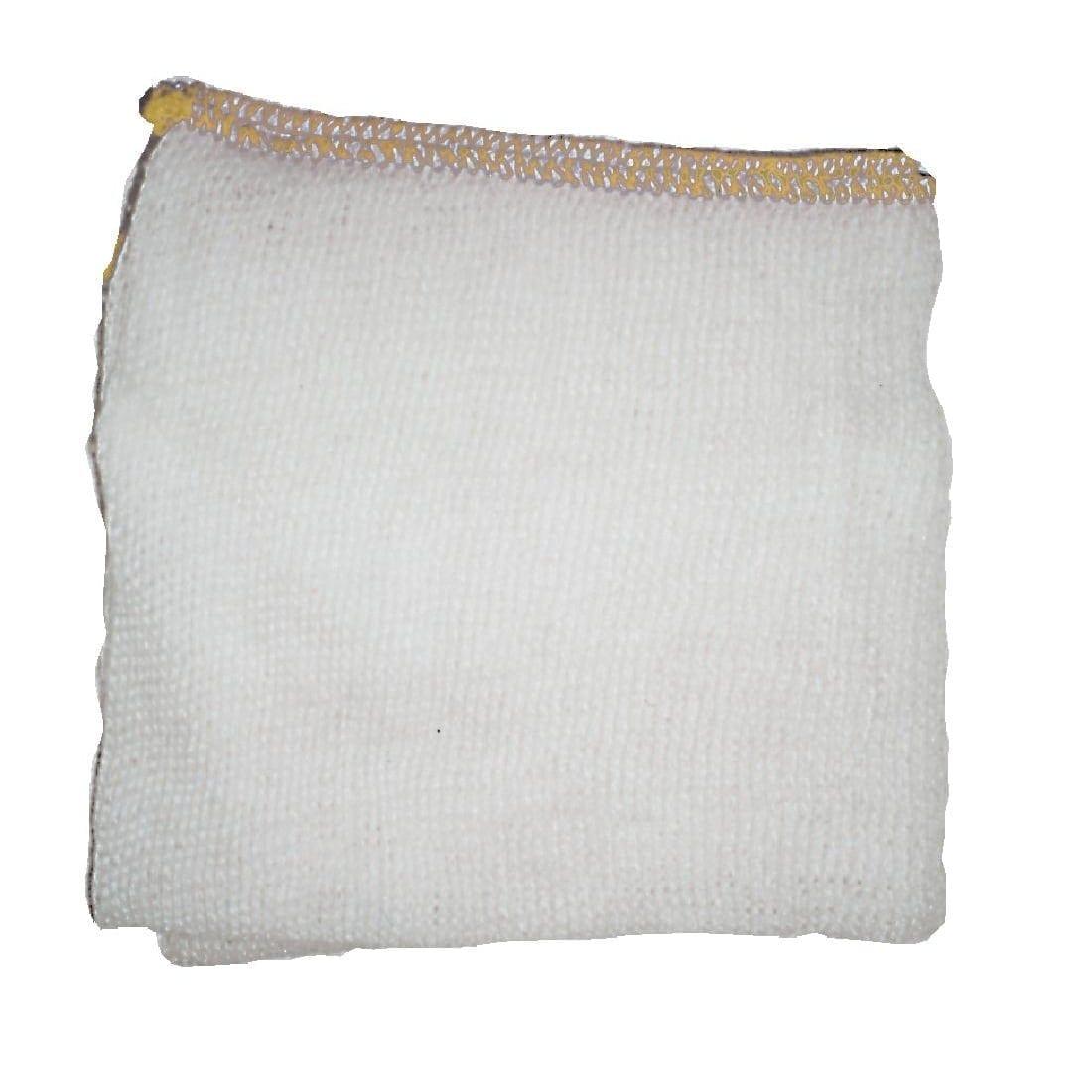 """Jantex Yellow Dish Cloths - 400x250mm 16x10"""" (Pack 10)-0"""