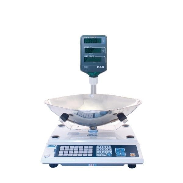CAS AP-Series Weighing Scales with Veg Scoop and Pole Display GS (Direct)-0