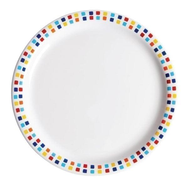 Carlisle Spanish Tile Dinner Plate - 230mm (Box 48)-0