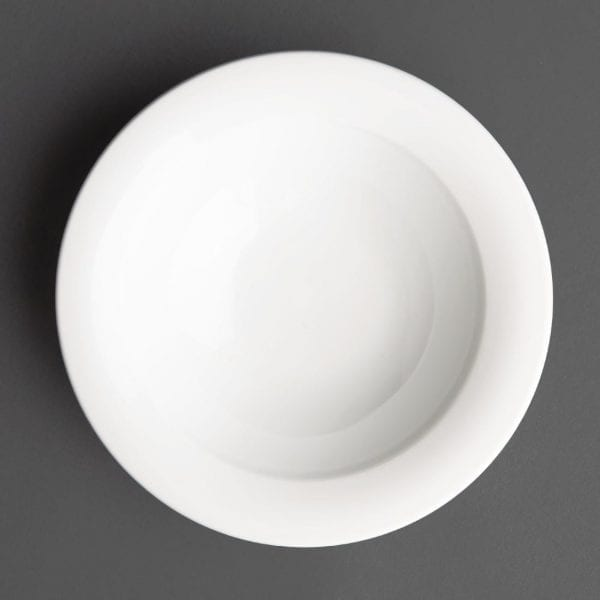 Art de Cuisine Menu Mid Rim Deep Soup Bowl - 19.9cl (Box 6)-0