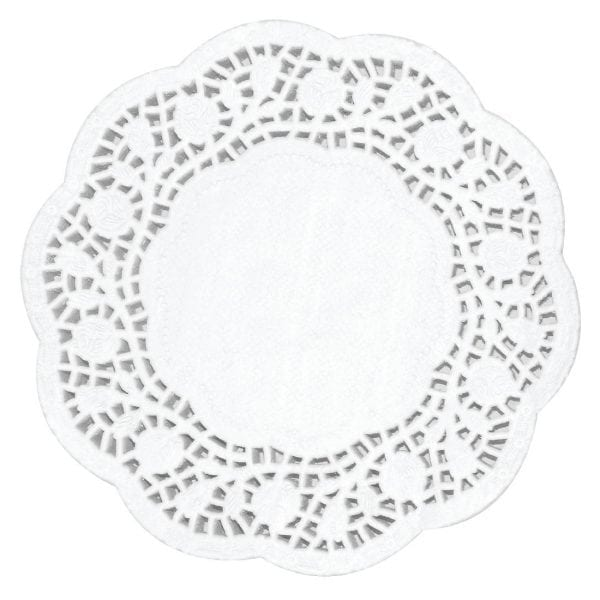 "Fiesta Paper Doily Round - 165mm 6 1/2"""" dia (Pack 250)-0"