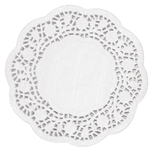 "Fiesta Paper Doily Round - 300mm 12"" dia (Pack 250)-0"