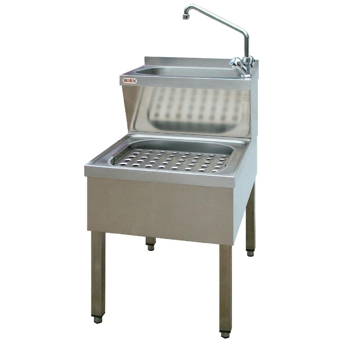 BasiX Janitorial Sink - 890H x 600D x 500mmW (Direct)-0