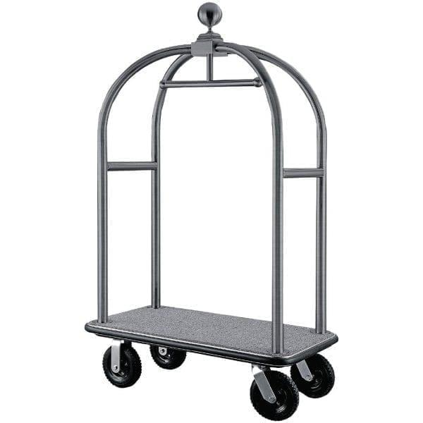 Bolero Luggage Cart Brushed St/St-0