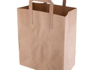 Recycled Brown Paper Bag Medium (Pack 250)-0