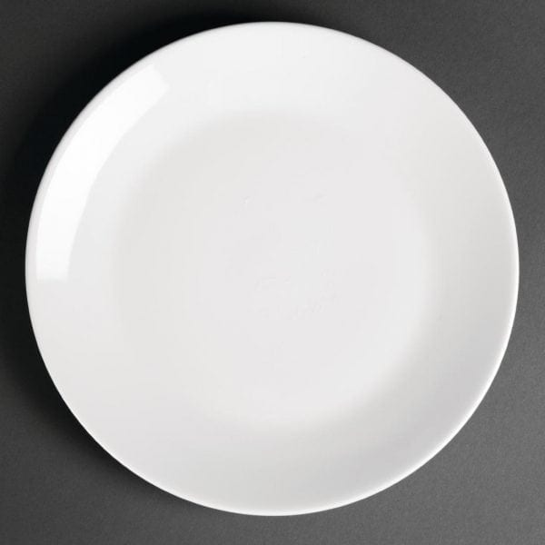 """Royal Porcelain Classic Coupe Plate White - 210mm 8.3"""" (Box 12)-0"""