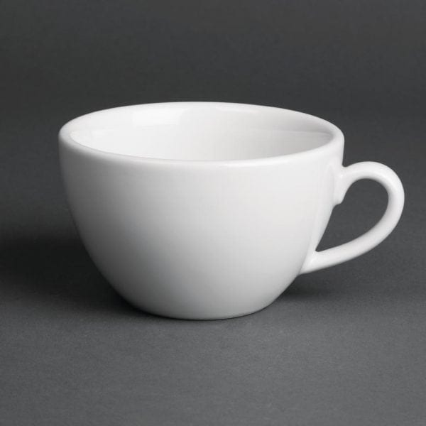 Royal Porcelain Classic Breakfast Cup White - 300ml 10.5oz (Box 12)-0
