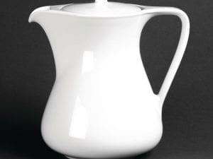 Royal Porcelain Classic Coffee pot White - 37oz 1.05Ltr-0