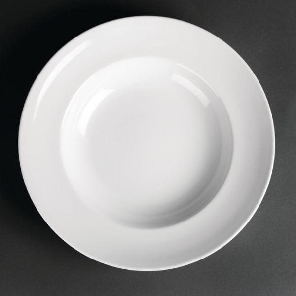 "Royal Porcelain Classic Pasta Plate White - 300mm 11.8"" (Box 12)-0"