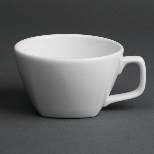 Royal Porcelain Classic Kana Teacup White - 8oz 230ml (Box 12)-0
