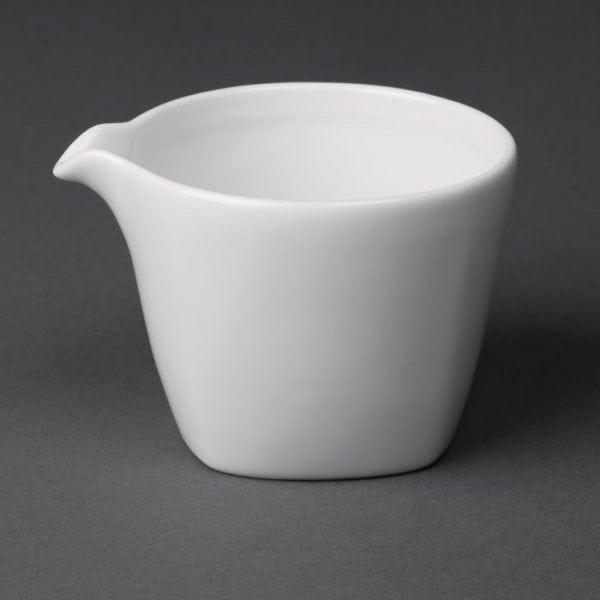 Royal Porcelain Classic Kana Creamer White - 160ml 5.5oz (Box 12)-0