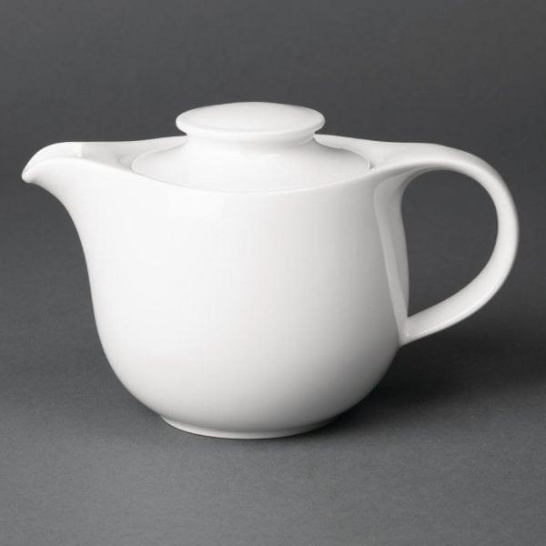 Royal Porcelain Maxadura Advantage Teapot White - 350ml 12.25oz (Box 2)-0