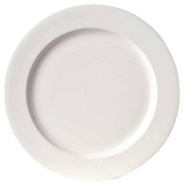 """Royal Bone Ascot Plate Flat White - 300mm 11.8"""" (Box 6)-0"""