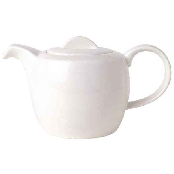 Royal Bone Ascot Teapot White - 35oz 1Ltr-0