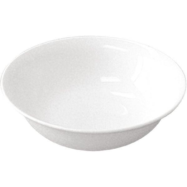 """Royal Bone Ascot Oatmeal Bowl White - 164mm 6.5"""" (Box 6)-0"""