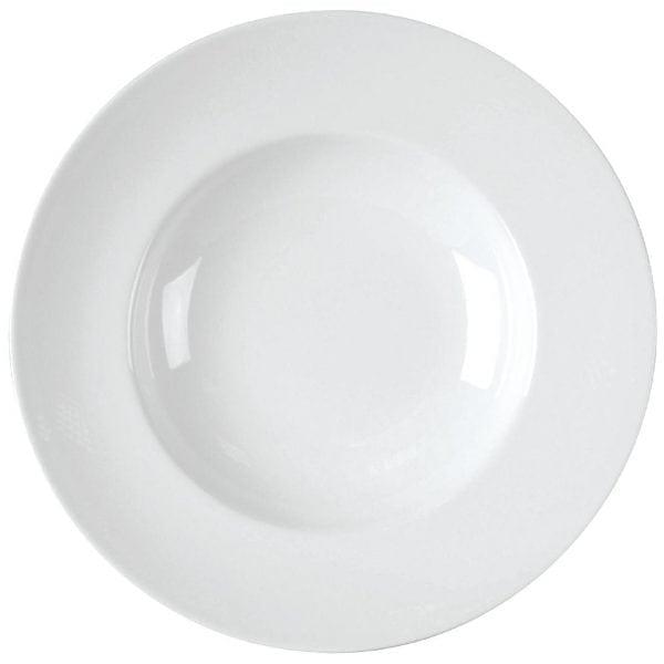 """Royal Bone Ascot Plate Deep White - 11 3/4"""" 300mm (Box 6)-0"""