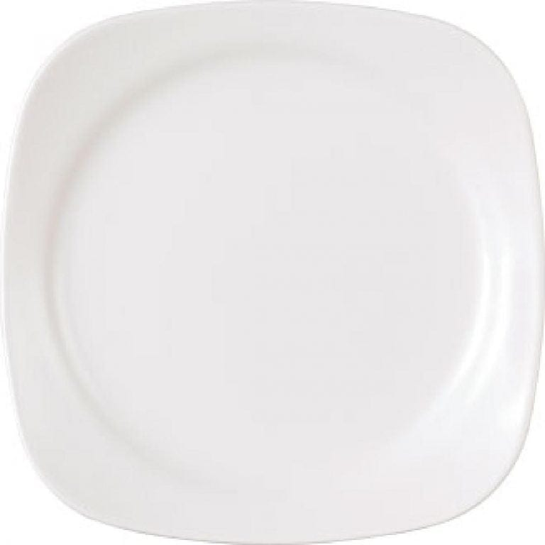 Wedgwood Vogue Square Plate - 17cm (Box 4) (Direct)-0