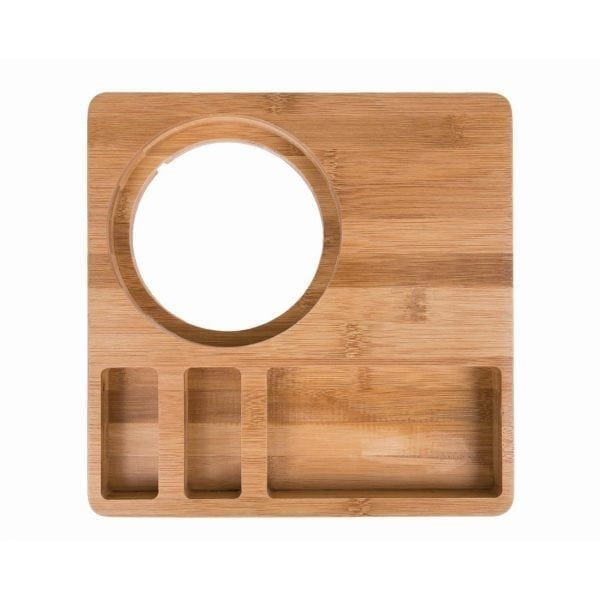 Wooden Hotel Room Welcome Tray-0